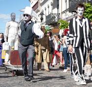 В Гродно состоялся Биг-Мини Фестиваль уличного и площадного искусства
