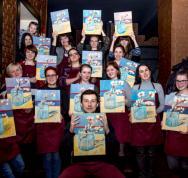 09/03/2017 Рисуем картину Винсента Ван Гога «Ветка миндаля в станкане»