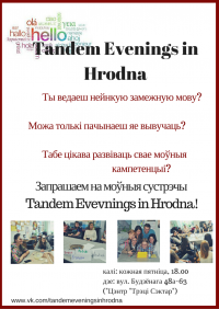 Tandem Evenings in Hrodna