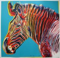 Рисуем картину в стиле поп арт Энди Уорхола «Зебра Греви»