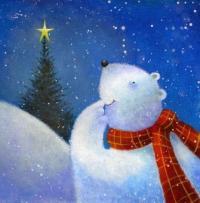 Рисуем иллюстрацию от Яна Пэшли « Полярный мишка»