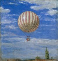 Рисуем «Воздушный шар» Пала Синьеи-Мерше