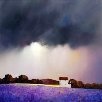 Рисуем «Атмосферный пейзаж» Барри Хилтона