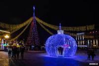 Праздничная новогодняя ночь на пл. Ленина «Сладкий Новый год»