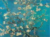 Рисуем фрагмент работы Винсента Ван Гога «Цветущие ветки миндаля»