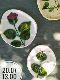 Лепим керамическую посуду в один этап (тарелка, пиала)