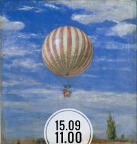 Рисуем работу Пала Синьеи-Мерше «Воздушный шар»