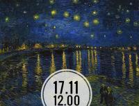 Рисуем работу Винсента Ван Гога «Звёздная ночь над Роной»